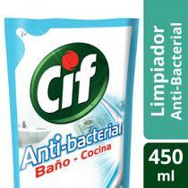 Limpiador-Liquido-CIF-Antibacterial-2en1-Repuesto-450-Ml-_1