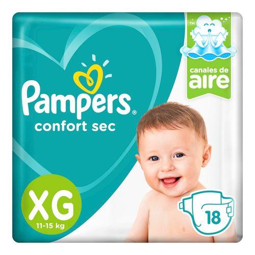 Pañales-Pampers-Confort-Sec-XG-18-Un--_1