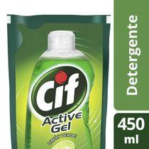 Lavavajilla-Cif-Active-Gel-Limon-Verde-Doypack-450-Ml-_1