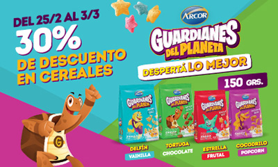 cereales arcor(3.3)