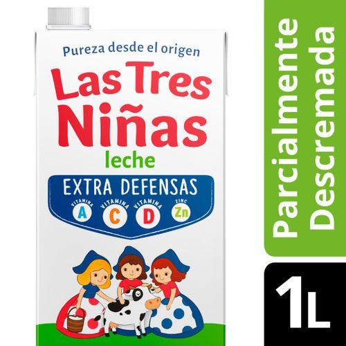 LECHE-DESCREMADA-EXTRA-DEFENSAS-LARGA-VIDA-LAS-TRES-NIÑAS-1LT_1