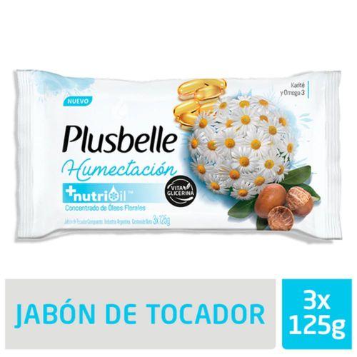 Jabon-de-Tocador-Plusbelle-Humectacion-3-x-125-Gr-_1