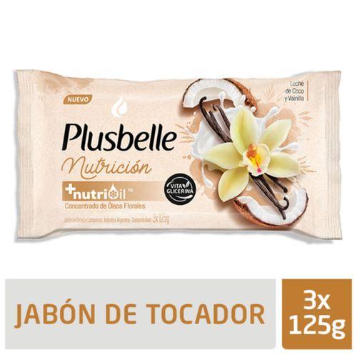 Jabon-de-Tocador-Plusbelle-Nutricion-Vita-Glicerina-3-x-125-Gr-_1