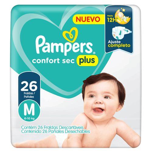 Pañales-Pampers-Confort-Sec-Plus-T--M-610-Kg--26-Un-_1